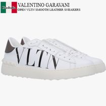 VALENTINO GARAVANI OPEN VLTN SMOOTH LEATHER SNEAKERS
