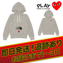 COMME des GARCONS(コムデギャルソン) パーカー・フーディ COMME des GARCONS X THE NORTH FACE コラボ スウェットパーカー