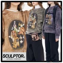 送料・関税込★SCULPTOR★Puppy Friends Tie-Dye Sweatshirt 3色
