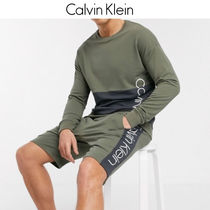 【Calvin Klein】ロゴ入りスエットセットアップ