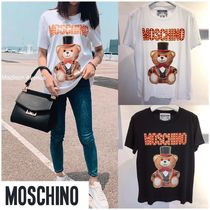 MOSCHINO- TEDDY BEAR ジャージーTシャツ
