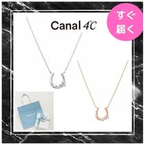 【canal 4℃】馬蹄モチーフ ネックレス