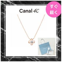 【canal 4℃】ネックレス フラワーモチーフ