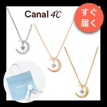 【canal 4℃】ネックレス 月モチーフ