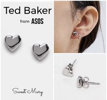 ASOS/Ted Baker・タイニーハート*スタッドピアス/Silver 送料込