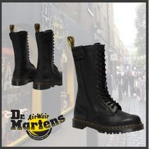 【海外限定】★Dr.Martens★HANLEY HIGH LEATHER BOOTS