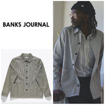 【BANKS JOURNAL】☆長袖シャツ☆FORMATION L/S WOVEN SHIRT
