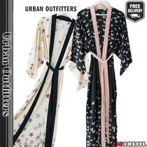 日本未入荷☆Urban Outfitters UO Printed Long Robe バスローブ