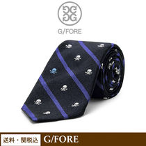 G FORE(ジーフォア) ネクタイ 【G/FORE】SKULL & T'S TIE メンズ ネクタイ