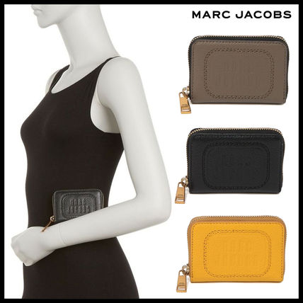 ☆☆MUST HAVE☆☆Marc Jacobs☆☆Leather Mini Zip Card Case