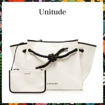 Unitude☆KNOT CANVAS TOTE BAGキャンバストートバッグ