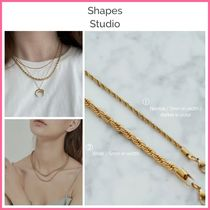 NY発!! ◆Shapes Studio◆ FRENCH TWISTED ROPE CHAIN NECKLACE