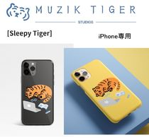 Premium Design[MUZIK TIGER] Sleepy Tiger  iPHONe Slim Case