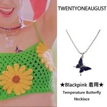 ★Blackpink 着用★ Temperature Butterfly Necklace