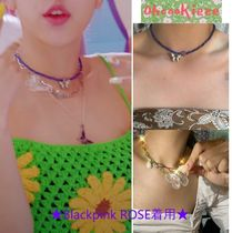 ★Blackpink ROSE着用★ Oh! Cookieee! - Butterfly Necklace
