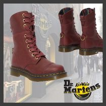 【海外限定】★Dr.Martens★AIMILITA LEATHER HIGH BOOTS/RED