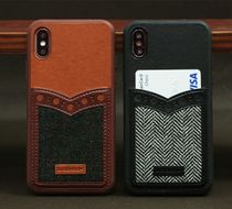 【DESIGN SKIN】Leather iPhone ケース カード収納可能