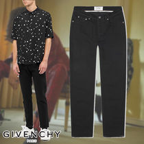 GIVENCHY☆RAW EDGE SKINNY STRETCH JEAN カットオフデニム