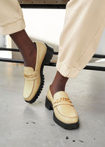 ☆& Other Stories☆Rope Chain Leather Loafers