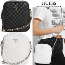 【GUESS】ADISON QUILTED CROSSBODYキルティング フェイクレザー