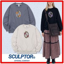 ☆新作/人気☆SCULPTOR☆ Flower Frame Sweatshirt☆トレーナ