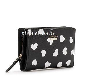 kate spade new york 折りたたみ財布 Sale!kate spade new york-cameron street hearts dara