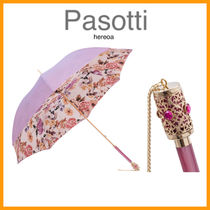 送料込!Pasotti LIGHT PURPLE FLOWERS UMBRELLA