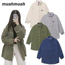 ●muahmuah● 20F/W Corduroy Over-fit Shirts 4色