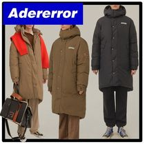 イベント★関税込★ADERERRORTorn label puffer coat★コート★
