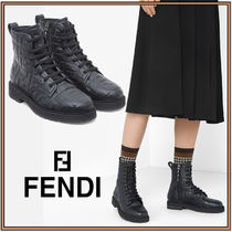 FENDI☆ANKLE BOOTS ankle biker boots☆アンクルブーツ☆送料込