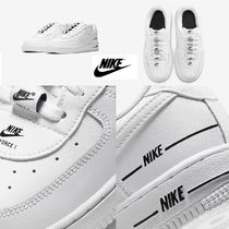 "子供用 Nike☆Air Force 1 LV8 3 ""White/Black"" 17cm~"