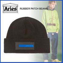 20AW◇LUXURYストリート◆ARIES◆RUBBER PATCH BEANIE