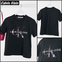 【Calvin Klein】Jeans New York プリント ロゴ Tシャツ ♪