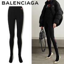 ∞∞ BALENCIAGA ∞∞ GYM WEAR cotton-jersey レギンス☆