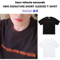 【hour minute seconds】 SIGNATURE T-SHIRT ジェジュン 着用