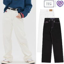 ROMANTIC CROWN★[TGT X RMTCRW]POINT STITCHES JEANS 2色