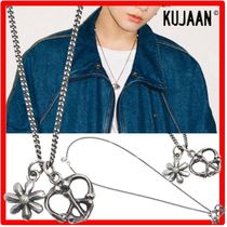 KUJAAN(クジャーン) ネックレス・チョーカー ★BTS ジョングク着用★人気★KUJAAN★Daisy & Peace Necklace★