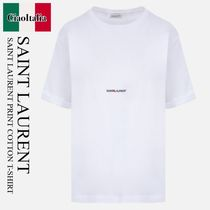 SAINT LAURENT 「SAINT LAURENT」半袖Tシャツ