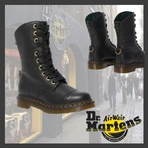 【海外限定】★Dr.Martens★AIMILITA LEATHER HIGH BOOTS/BLACK