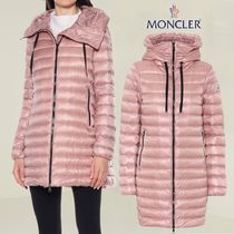 MONCLER ▼【直営・正規店品】上質 軽量 ピンク ダウン コート