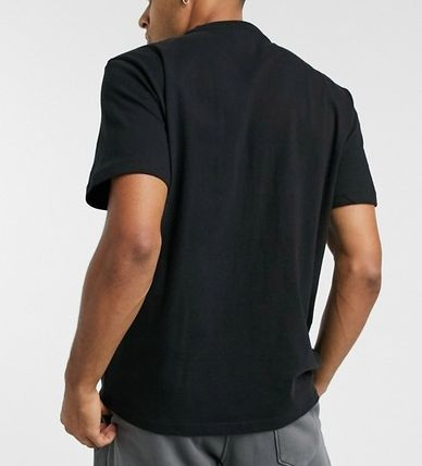 American Eagle Outfitters Tシャツ・カットソー ★American Eagle★全2色コントラスト ロゴTシャツ 関税送料込(5)