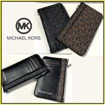 Michael Kors☆GIFTING LONG ZIP WALLET☆メンズ長財布☆送料込