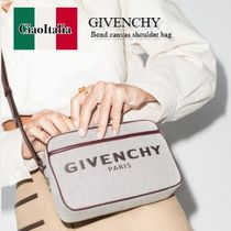 GIVENCHY Bond canvas shoulder bag