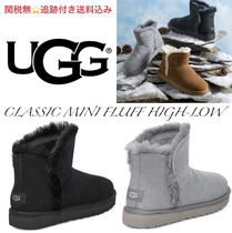 UGG CLASSIC MINI FLUFF HIGH-LOW BOOT★クラシック ミニ/追跡付