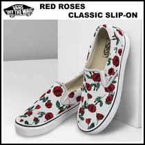 男女OK!! 20-21AW ◆Vans◆ RED ROSES CLASSIC SLIP-ON