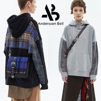 ★ANDERSSON BELL★UNISEX FABRIC CONTRAST SEOUL HOODIE 2色