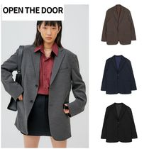 無料EMS配送★OPEN THE DOOR★margaret jacket (4 cl