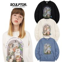 ●SCULPTOR● 20F/W Kitten Friends Sweatshirt 3色