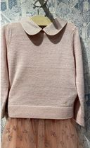 AW20 BONPOINT☆カシミア ニット襟付きTaupe6.8A