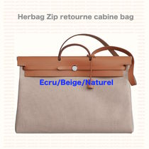 メンズも*Herbag Zip retourne cabine bag/クレベージュ